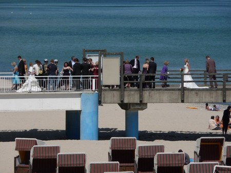 Hochzeitstrubel auf Rügen