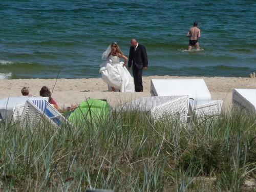 Hochzeit am Strand von Göhren