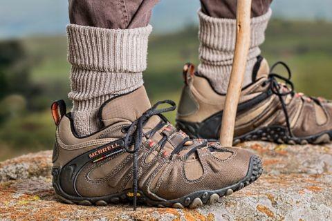 Gutes Schuhwerk ist wichtig bei den Wanderungen