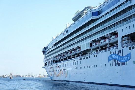Kreuzfahrtschiff der NCL Reederei