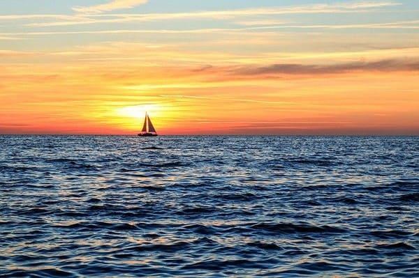 Segelboot vor Rügen: Quelle Pixabay