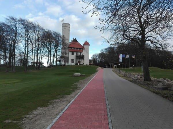 Golfen bei Schloss Ranzow Rügen
